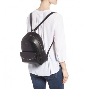 Cassie Star Studded Lambskin Leather Backpack