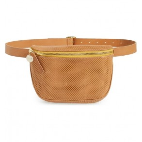 Perforated Leather Supreme Fanny Pack