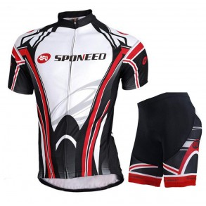 Black and Red Cycling Uniform