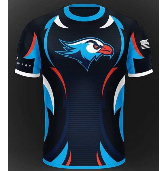 Soccer shirt with eagle icon