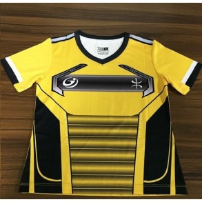 Yellow Design Soccer Uniform